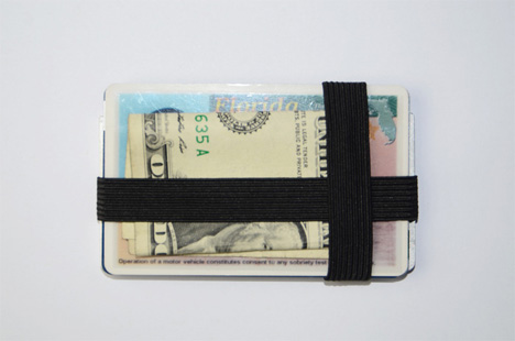 back view of ping wallet