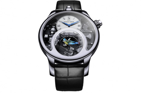 charming bird watch jaquet droz