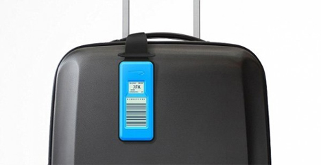 electronic luggage tags