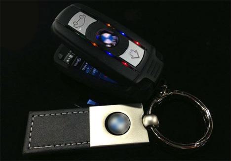 miniature key fob cell phones