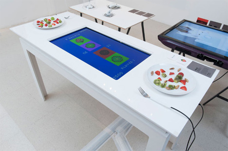 pixelate fruit eating game