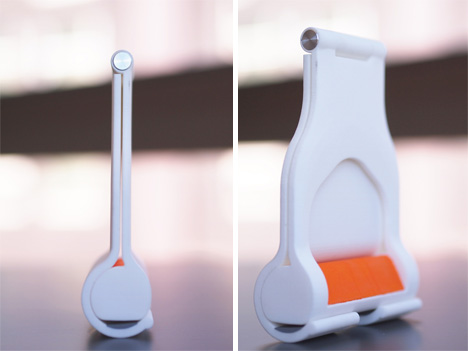 portable handle more hygienic public transportation