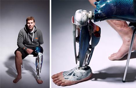 removable muscle leg