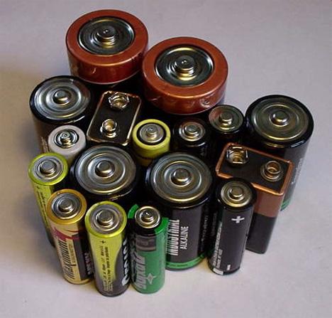 standard batteries