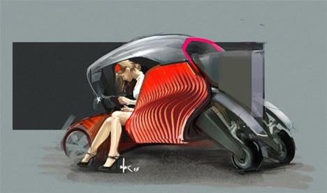 3d printed car concept