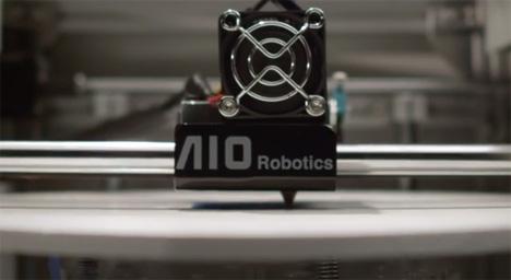 aio robotics 3d fax copier printer