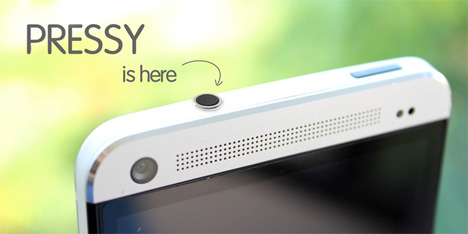 android physical button pressy