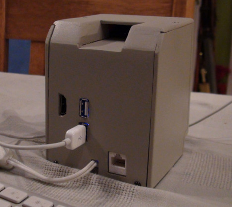 back of mini mac
