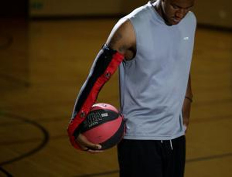 basketball shooting sleeve