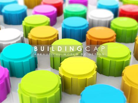 building cap building toys