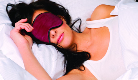 electronic sleep mask