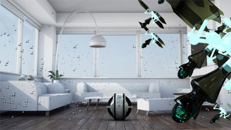 flying cleaning robots