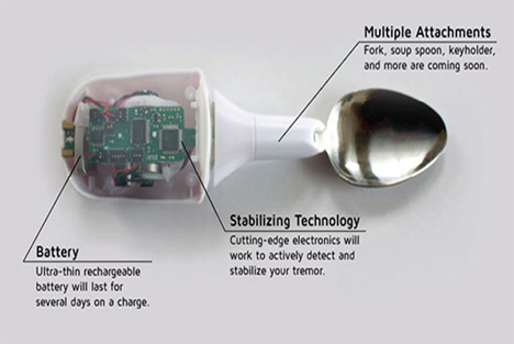 parkinson's spoon