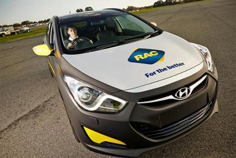 rac anti distracted driving car