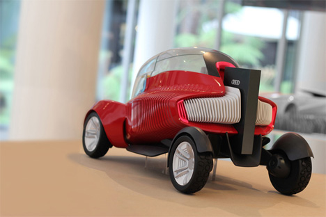 self assembling 3d printed car