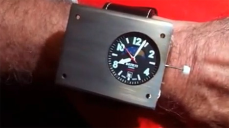 bathys atomic watch