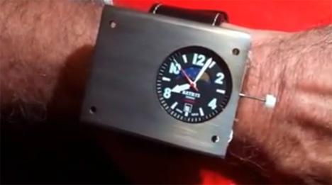 bathys atomic watch
