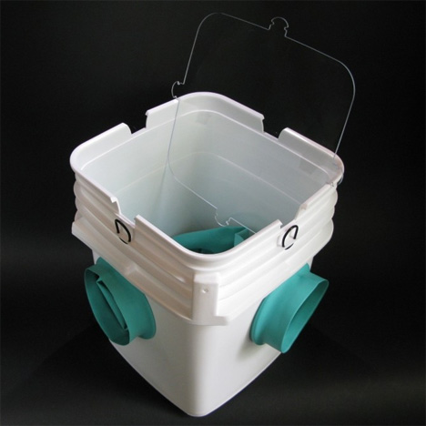 glovebucket cleaning container