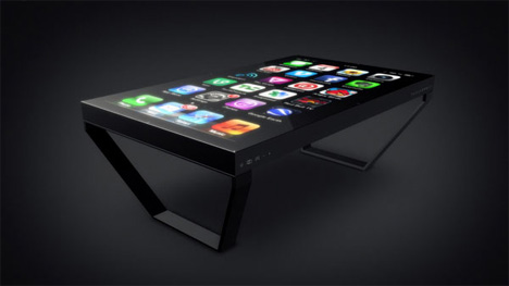 ios coffee table