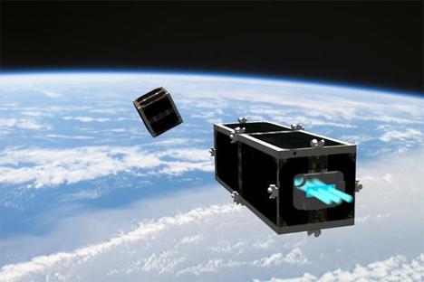 space janitor satellite