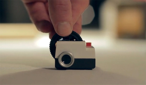 tiny instagram projector projecteo