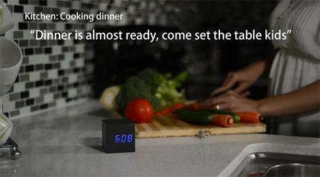 clockee talkee intercom alarm clock