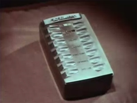 early color tv remote control
