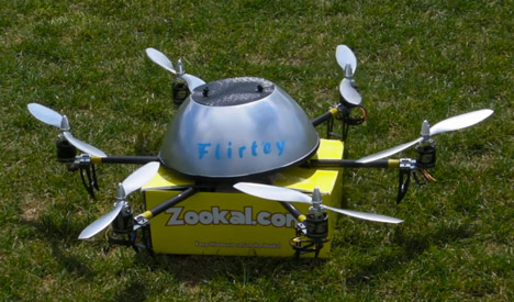 Flirtey Drone Delivery Service