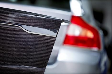 lightweight battery car panels