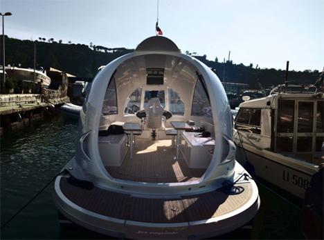 mini yacht jet capsule