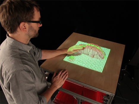 physical interface MIT InForm