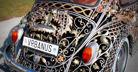 vrbanus croatia wrought iron vw bug