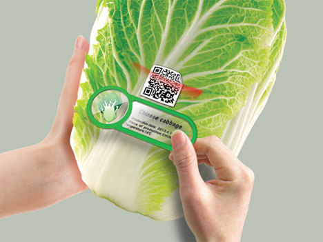 food scanning qr codes for freshness