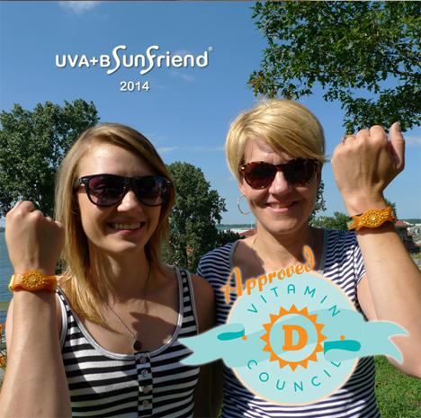 sunfriend uva and b wristband
