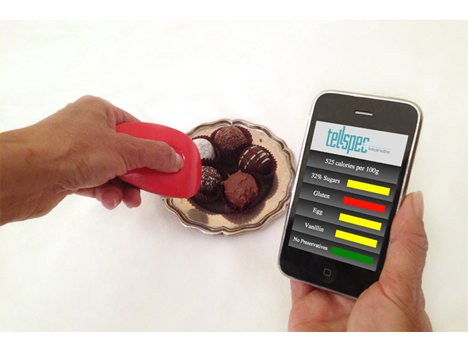 food scanner and software