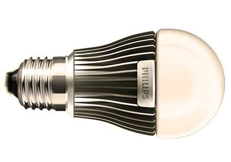 led bulb with heat sink