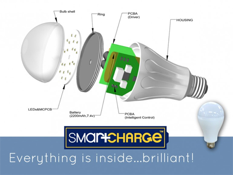 led lights smartcharge