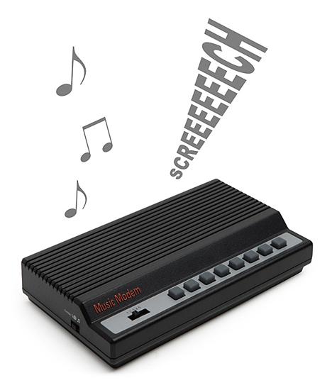 modem sounds synthesizer