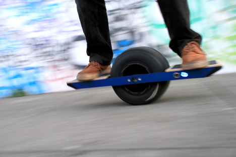 Improvements Have Been Made Sometimes To Interesting Results The Onewheel Is Latest In Foot Based Transportation