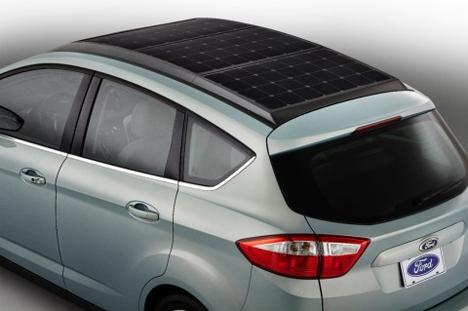 solar hybrid ford c-max energi