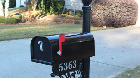 solar powered wi-fi mailbox