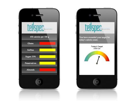 tellspec app