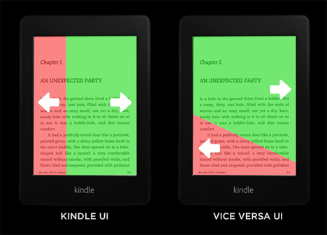 vice versa kindle ui