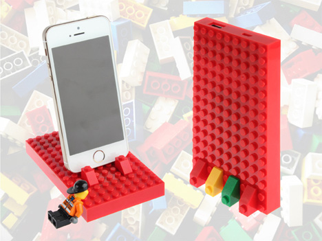 LEGO external battery phone chargers