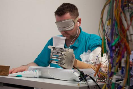 bionic feeling hand