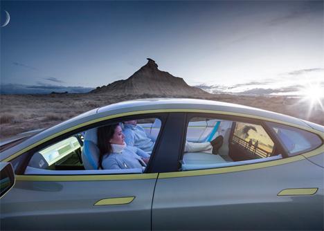 concept car tesla rinspeed