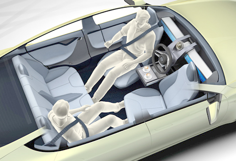 customizable positions driverless car