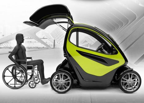 Absolute Mobility Firm Designs Concept Car For Disabled