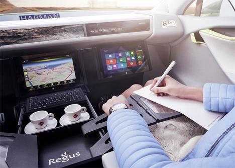 futuristic autonomous driverless car