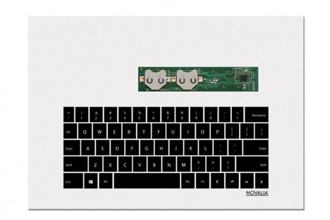printed paper keyboard